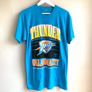 Adidas Oklahoma City thunder graphic T NWOT